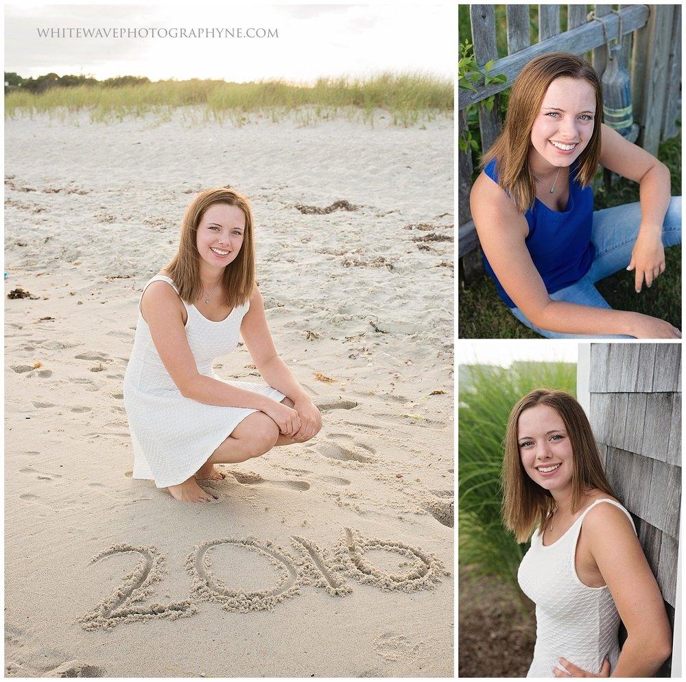 New Hampshire Senior Photographer, NH Senior Portraits, NH Beach Photography