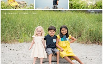New Castle NH Family Photographer | Sunset at Great Island Common