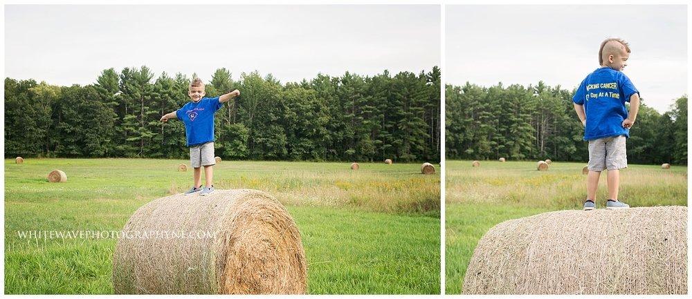 Newfields-NH-Family-Photographer, Childhood-Cancer-Awareness-Month, Vernon-Family-Farm, Super-Joe-Joe