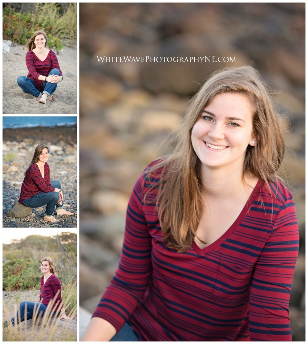 Oyster-River-High-School-Senior-Photographer, Durham-NH-Photographer, Odiorne-State-Park, NH-Class-of-2017