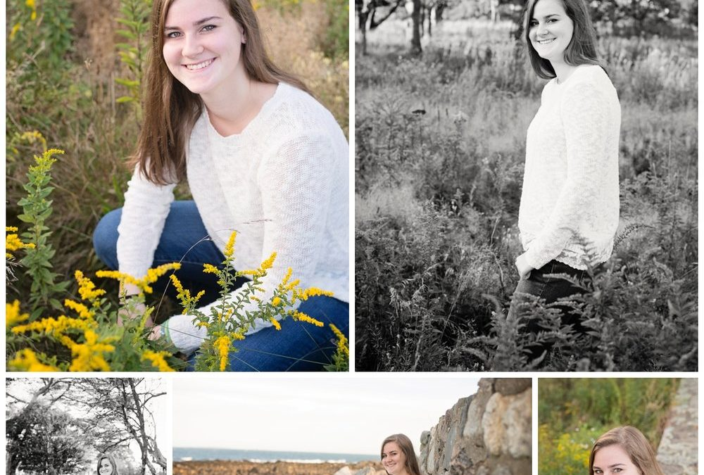 Seacoast NH Senior Photographer | Oyster River High School Class of 2017 – Annie