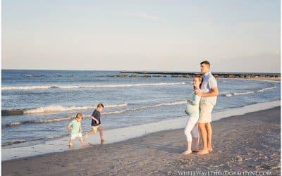 New Hampshire Maternity Photography | Hampton Beach State Park Maternity Session