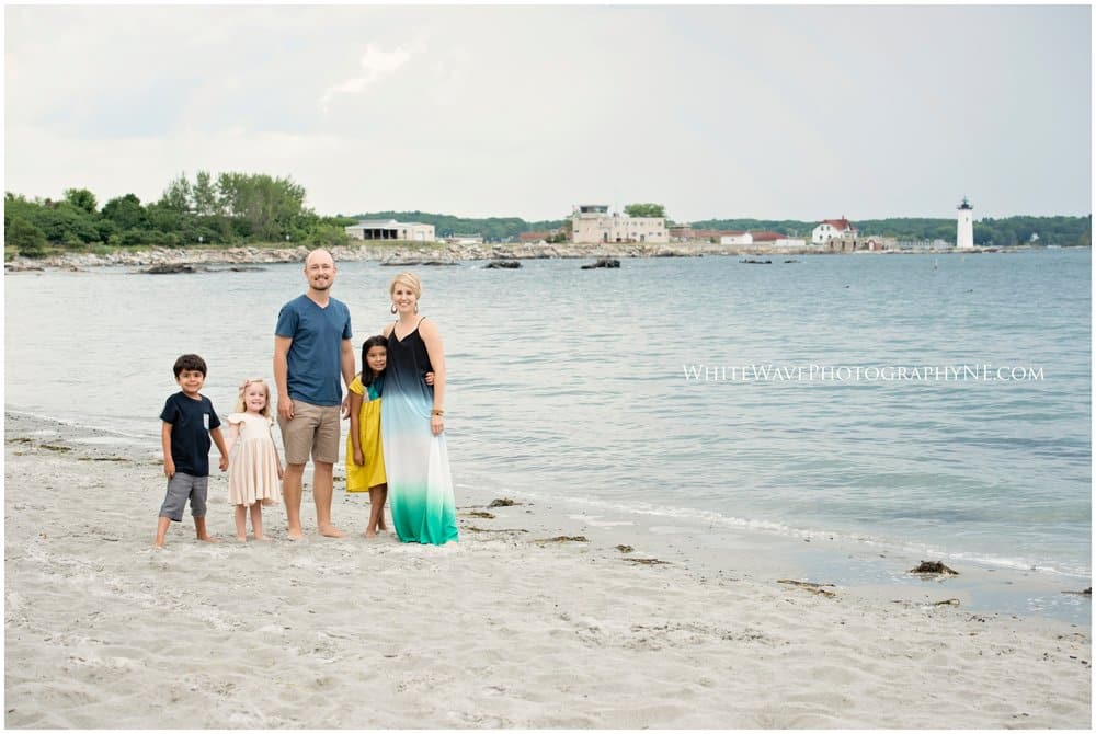 NH and Maine Beach Family Photography | Let's Hit the Beach