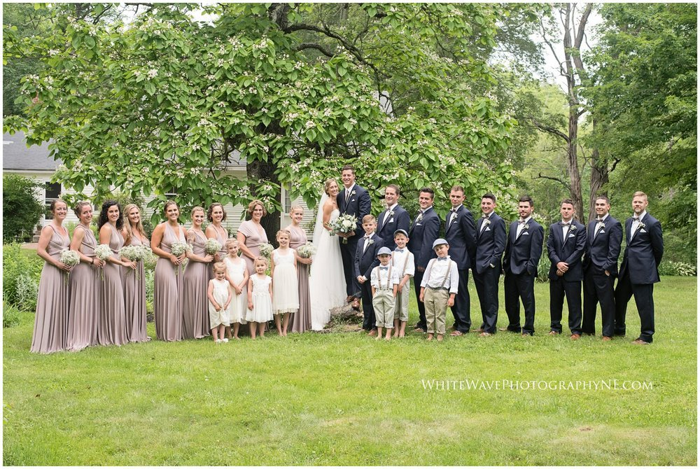 Wedding-Photographer-Southern-Maine-NH, Caswell-Farm-Weddings, NH-Elopement-Photographer