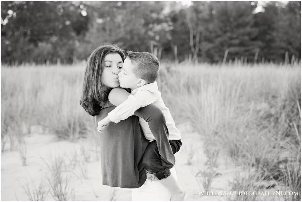 NH Family Lifestyle Photographer | Fall Beach Sessions