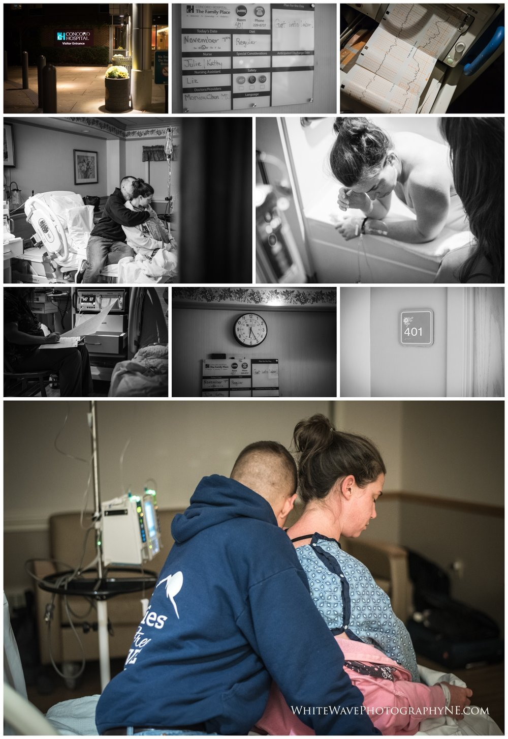 Birth-Photographer-NH, Home-Birth, Home-Birth-Photography, White-Wave-Photography, Concord-NH-Hospital
