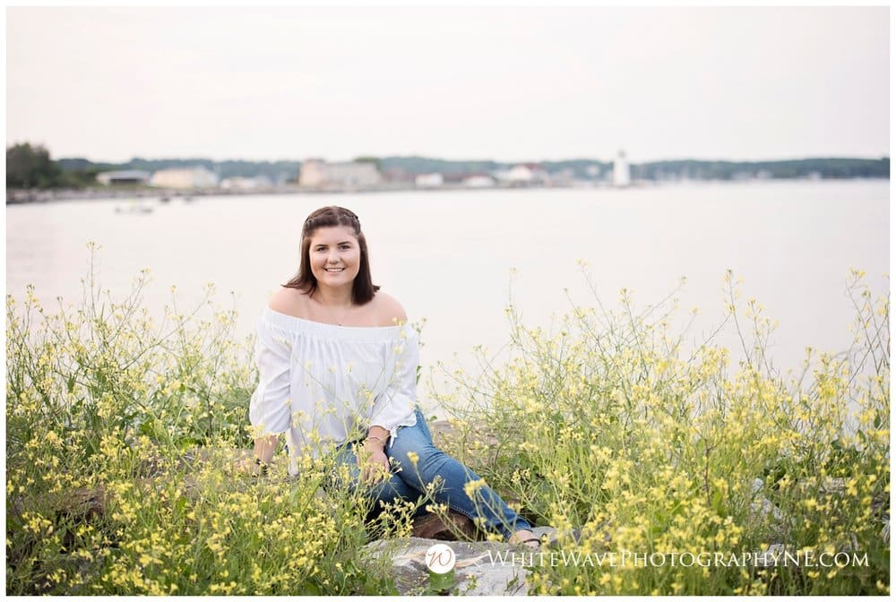 Exeter High School Senior Photographer | Kylie's Beautiful New Castle Senior Portraits