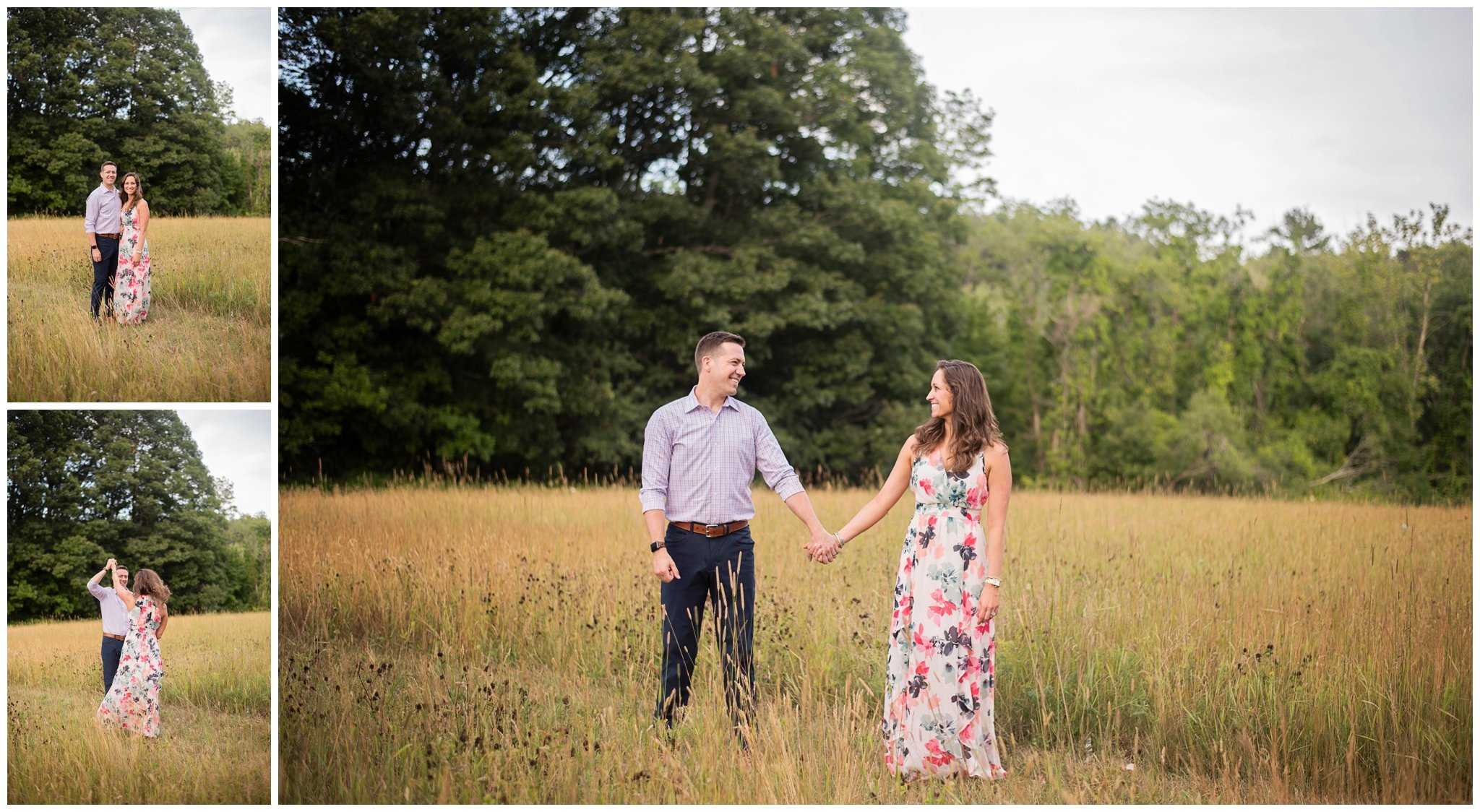 outdoor family photo session near Newburyport, MA