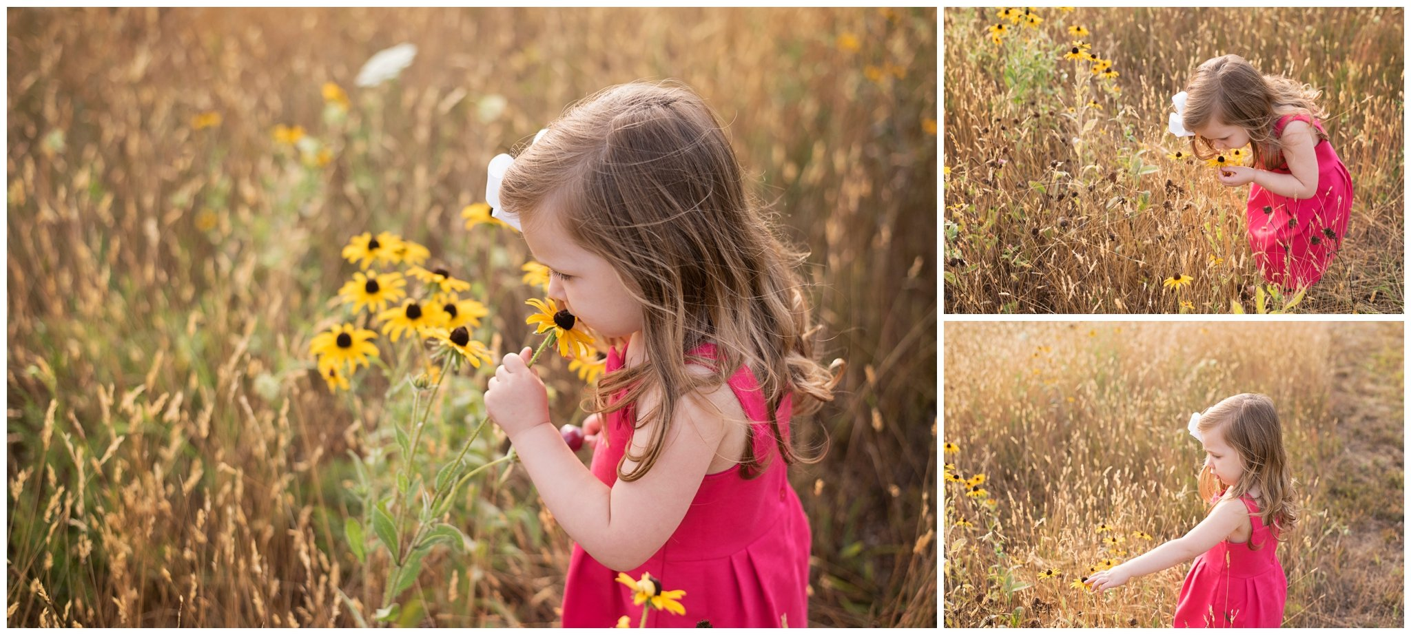 capturing your sweet child's personality during your outdoor family session