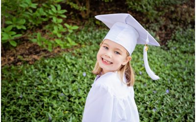 Pre-School and Kindergarten Cap & Gown Photo Session | Exeter, NH Child Photographer