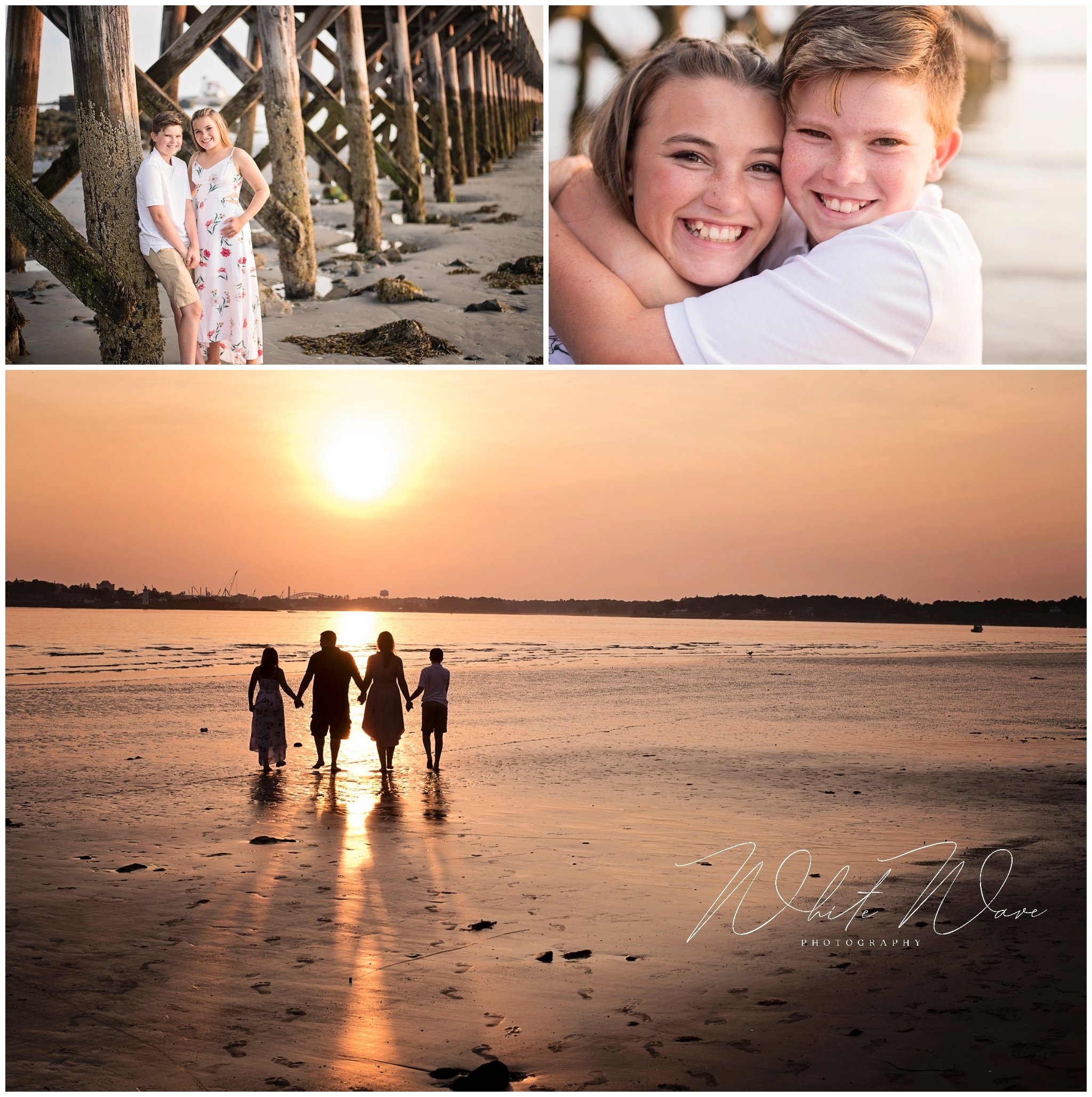tips on what to wear for your summer family portrait by family photographer White Wave Photography