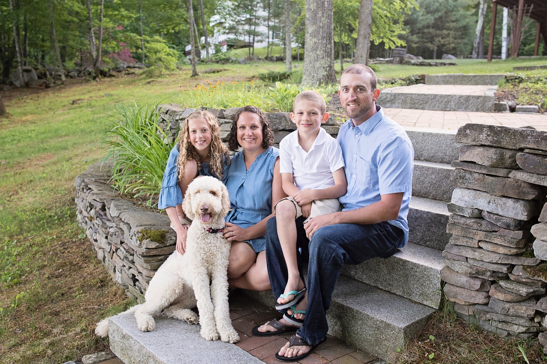 fall family portrait locations in the seacoast